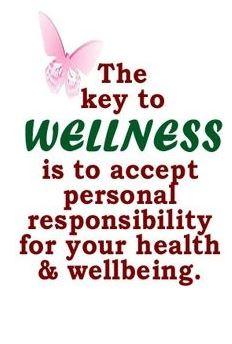 the key to wellness